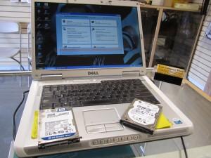 Dell e1505 hard drive cloning