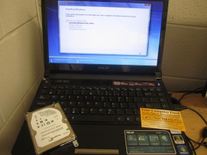 Asus Ul30v hard drive