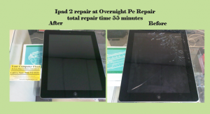 Ipad 2 repair before and after