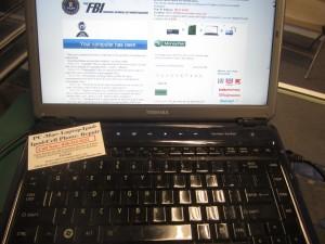 Toshiba fbi virus mcafee