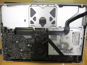 water damage macbook pro