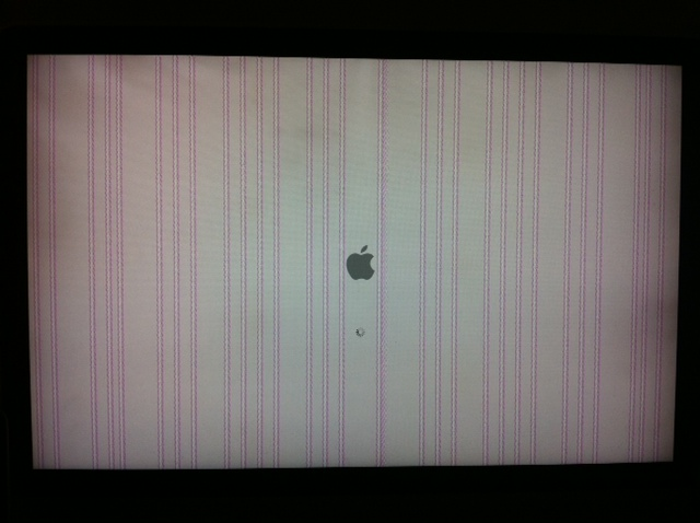 imac video chip failure