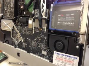 imac 27 inch a1312 ssd installation